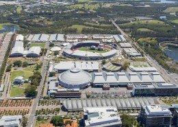 showground aerial image