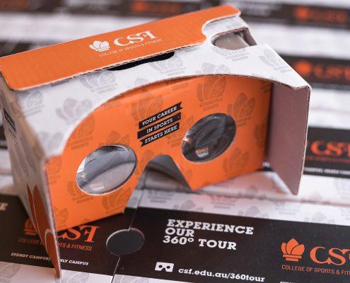 branded VR headset