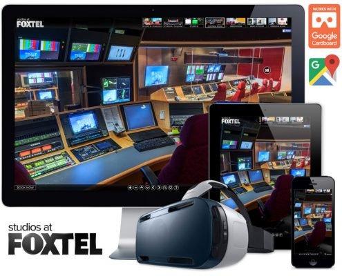 foxtel virtual reality