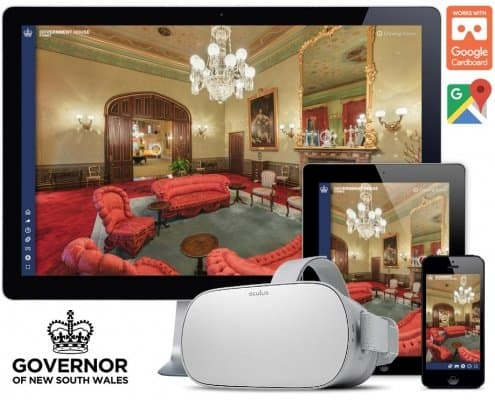 government house sydney virtual tour