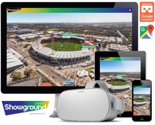 Sydney Showground virtual tour
