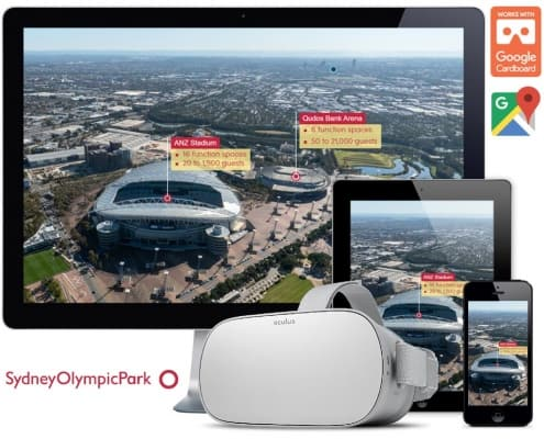Sydney Olympic Park virtual tours